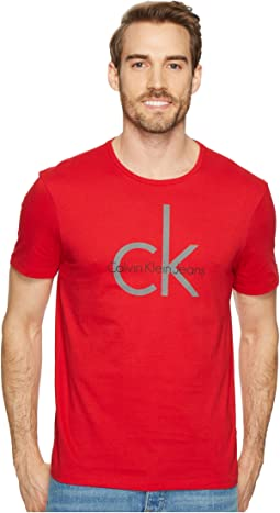 Calvin Klein Jeans - CK Fabric Sticker Crew Neck Tee