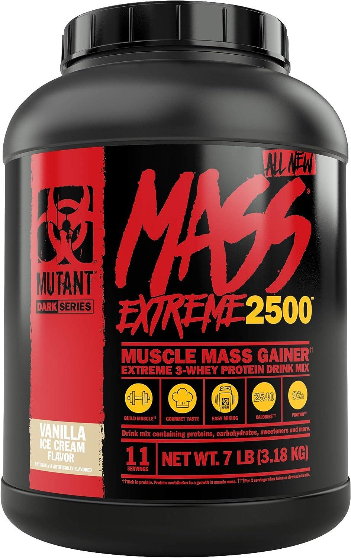 Max 49% OFF Mutant Mass XXXtreme Charlotte Mall Gainer – Powder Whey Bu Protein
