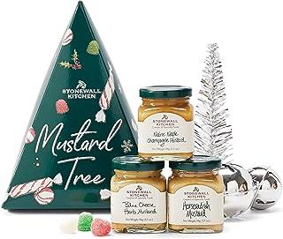 Stonewall Kitchen Holiday 2020 Mustard Tree Gift Set