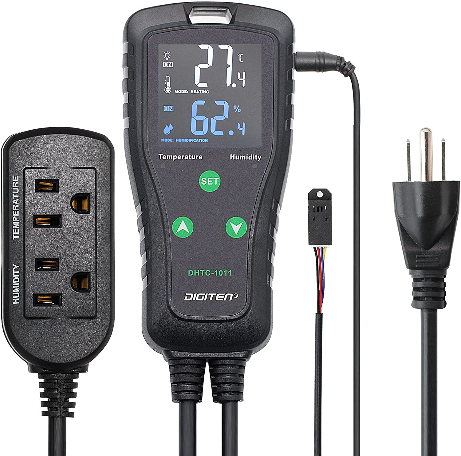 DIGITEN DHTC1011 Humidity High quality and Plug-in 5% OFF Temperature Controller The