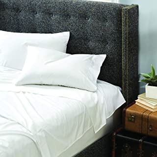 Dreamstead by Cuddledown 100% Cotton Bed Sheets Set | 300 Thread Count | Luxurious Sateen Weave | Pure Combed Cotton | Sof...