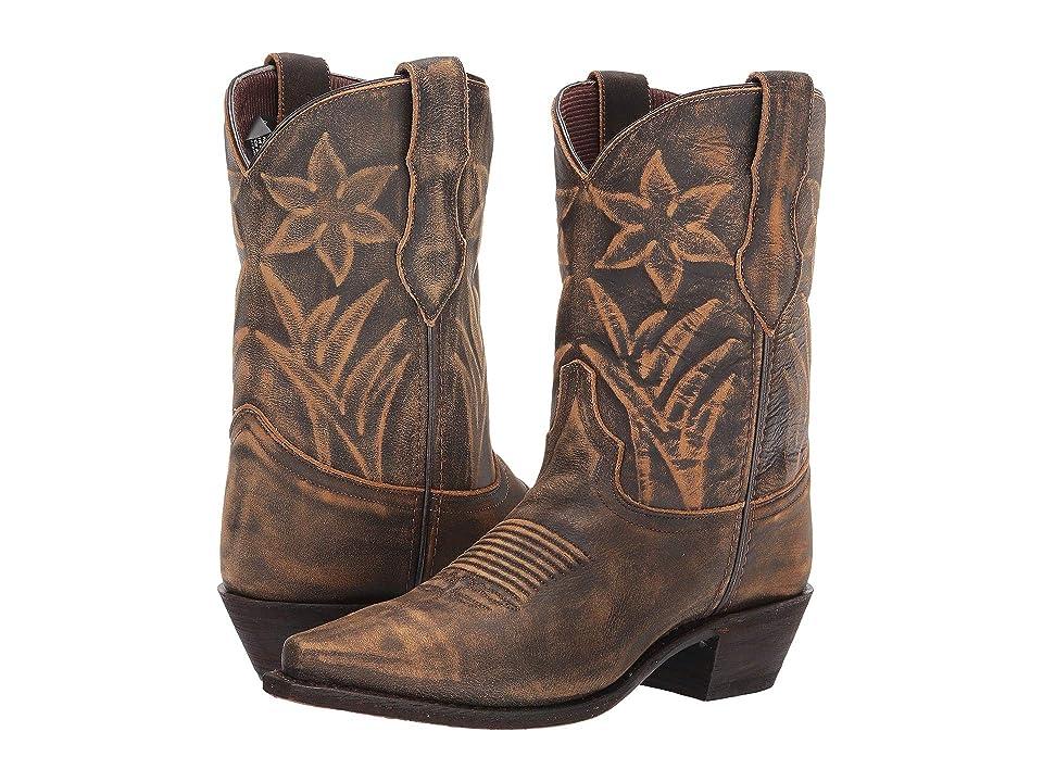 Dingo Phoebe (Tan) Cowboy Boots
