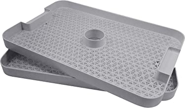 L'EQUIP 528 Grey Dehydrator Tray Pack (Set of 2)