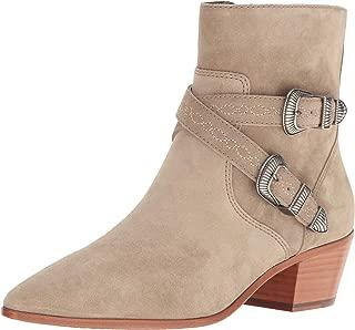 FRYE Women's Ellen Buckle Short Western Boot, Ash 7.5 M M US