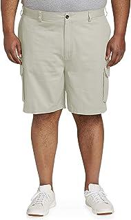 Khaki Cargo Shorts For Men