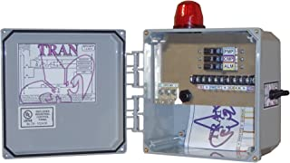 Tran-N2 Aerobic Septic Control Panel - With Pressure Sensor - 3 Breaker - No Timer