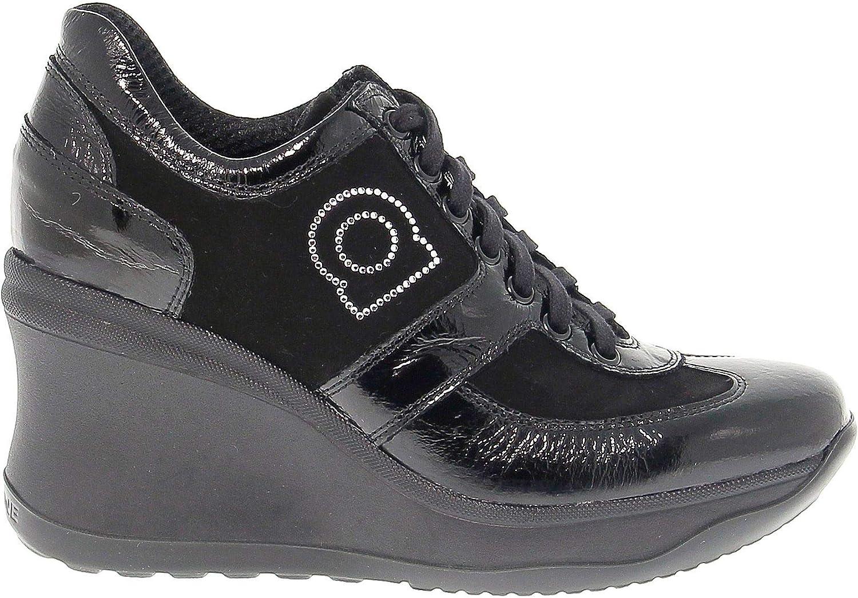 RUCO LINE Kvinnliga Kvinnliga Kvinnliga RUCO1800N svart mocka skor  het försäljning