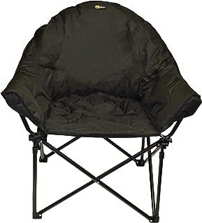 Faulkner 49570 Big Dog Bucket Chair, Black