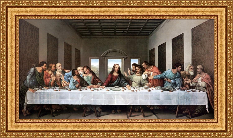 Forever Art outlet Gallery Leonardo da Vinci Supper The Max 66% OFF Can Last Framed