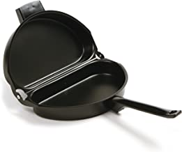 Norpro Nonstick Omelet Pan, 9.2 inches, Black