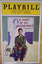 Sally Murphy Signed / Autographed Brand New Playbill from A Man of No Importance A New Musical starring, Roger Rees Faith Prince Michelle Federer Steven Pasquale Music by Stephen Flaherty & Lyrics by Lynn Ahrens