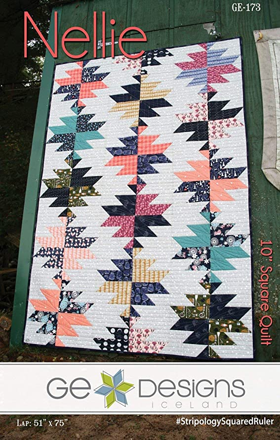 Nellie Quilt Pattern by GE Designs KGE173