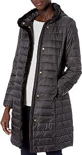 معطف Cool Haan نسائي ماركة Iridescent Down Alternative Coat