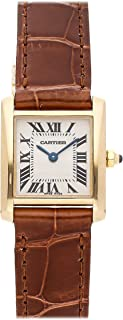 Cartier Tank Francaise Quartz (Battery) White Dial Womens Watch W50002N2 (Certified Pre-Owned)