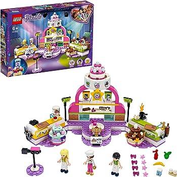 LEGO Friends ConcorsodiCucina, Playsetcon Torte Giocattolo, Cupcake, Mini-doll di Stephanie,per Bambini dai 6 Anni in poi, 41393