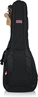 Gator Cases 4G Series Dual Gig Bag; Holds (1) Acoustic and (1) Electric Guitar (GB-4G-ACOUELECT)