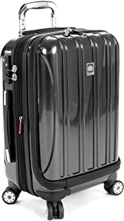 Delsey Luggage Helium Aero International Carry On Expandable Spinner Trolley 19
