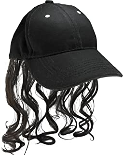 Billy Ray Hat with Brown Hair! Bed Head, Don't Care! Now You Have The Perfect Hat to Cover The Mess!!