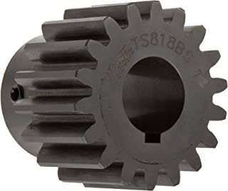 High Carbon Steel 18 Teeth 20/° Pressure Angle 1//2 Bore Diameter 1.5 Pitch Diameter 1.62 Outer Diameter 0.320 Face Martin M1218 Miter Gear Inch