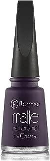Flormar Matte Nail Enamel (M11 Pure purple)