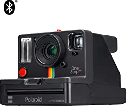 Polaroid Originals OneStep+ Black (9010), Bluetooth Connected Instant Film Camera (Renewed)