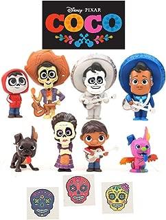 Toy, Play, Fun, 2018 new 8pcs/set Movie Coco Pixar Miguel Riveras Characters Figure Toys Collectors Miguel Ernesto de la Cruz Hector Toy, Children, Kids, Game