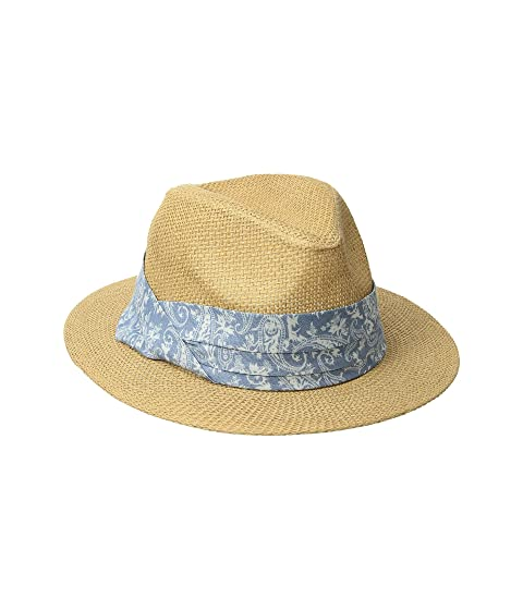 Paper Fedora w/ Paisley Band (Little Kids/Big Kids)