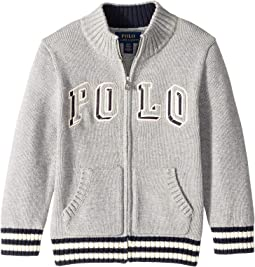 Cotton Full-Zip Sweater (Toddler)