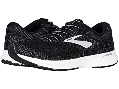Brooks Revel 3 (Black/Blackened Pearl/White) Women