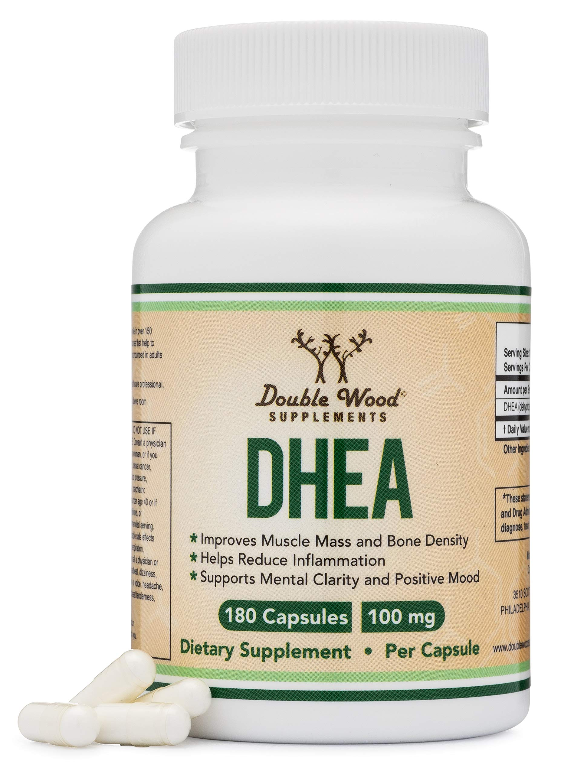 DHEA 100mg Capsules Strength Supplements