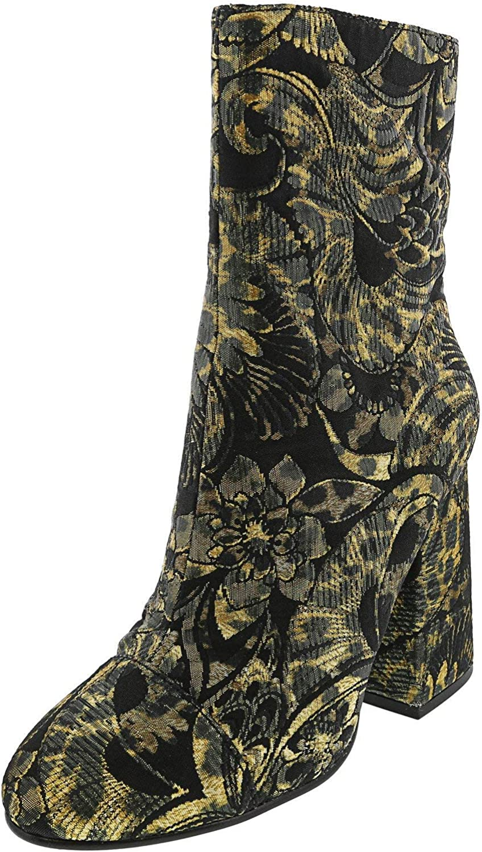 ASH Womens Flora Metallic Jacquard Dress Boots