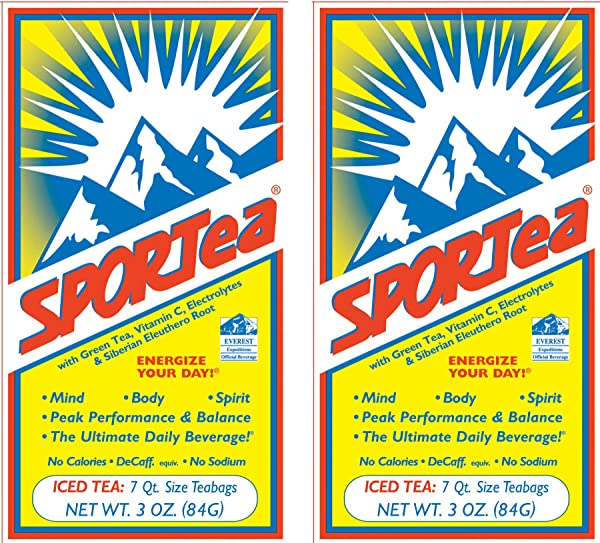 SPORTea R Iced 7 Qt Size Bags Box Pack Of 2