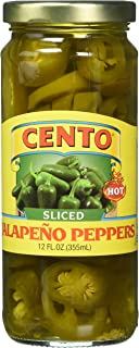 Cento Hot Jalapeno Peppers Sliced, 12 Ounce