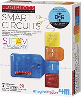 4M 4077 Logiblocs E-Building Blocks System Smart Circuits Kids Science Kit