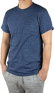 Velva Sheen 1PAC MOCK TWIST ベルバシーン ポケット付 クルーネック Tシャツ アメリカ製 ネイビー