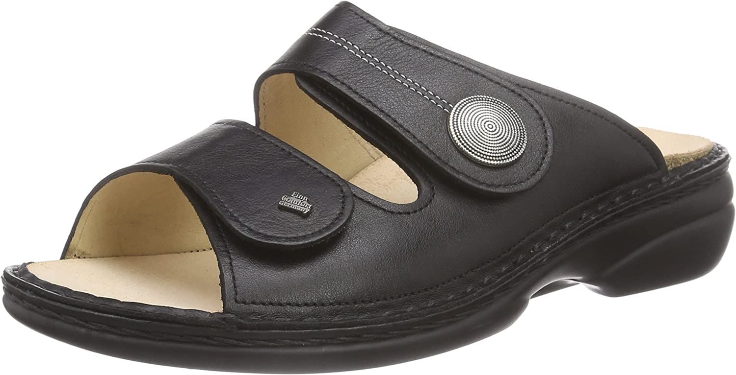 Finn Comfort Womens 2550 Sansibar Nappaseda Leather Sandals