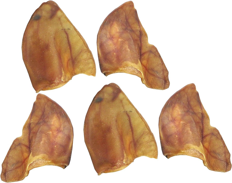 Butcher Shop 012031 100% Pig Ears (5 Pack), 114 G