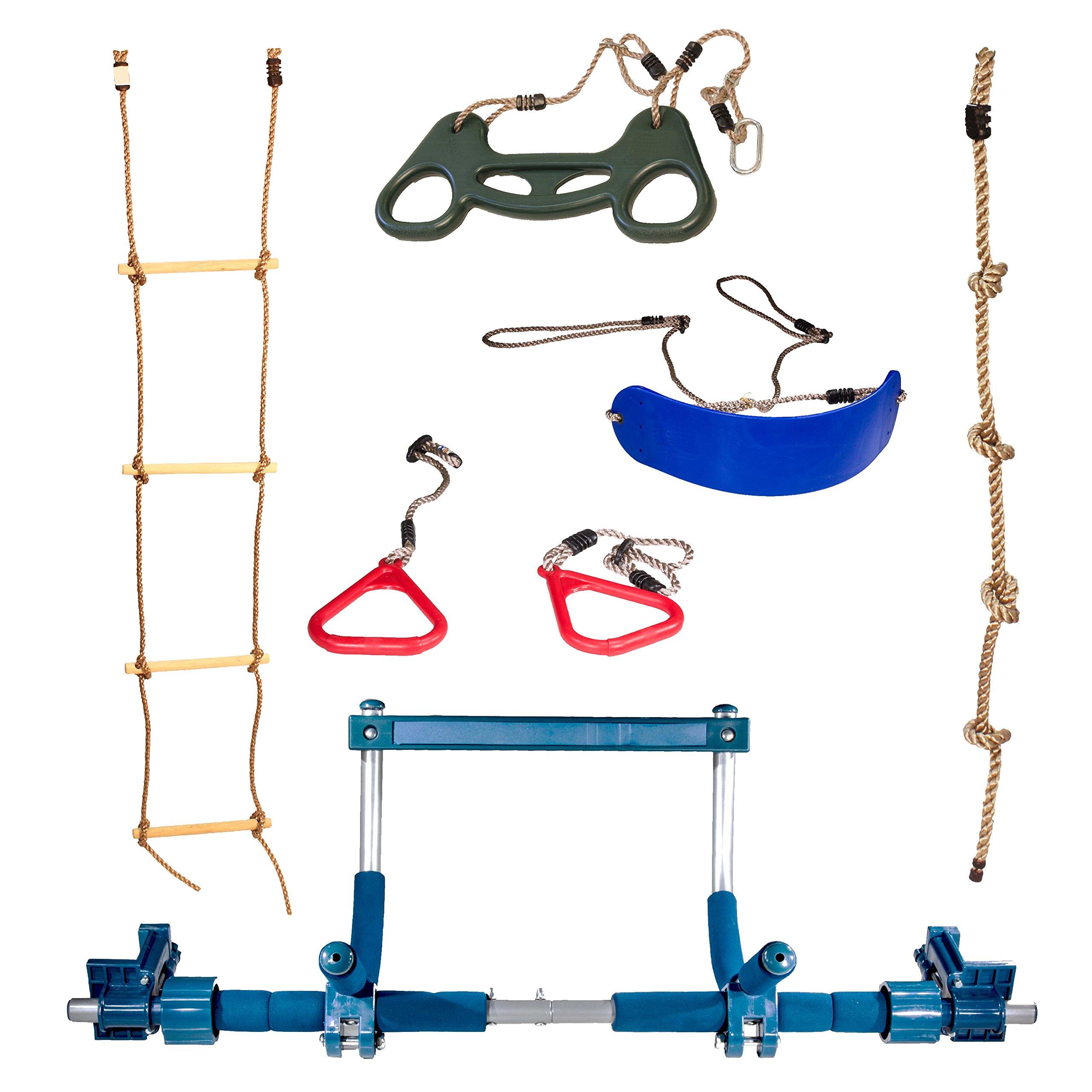 Gym1 Playground Plastic Climbing Swinging