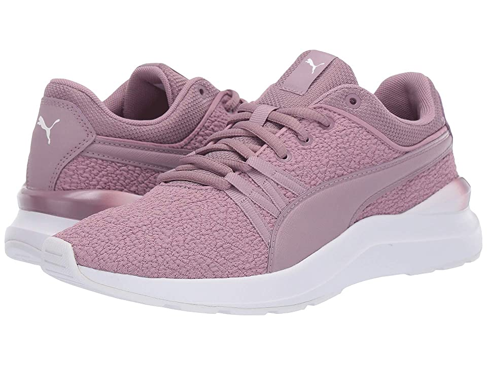 89102d874f18 PUMA Adela Gradient (Elderberry Puma White) Women s Shoes