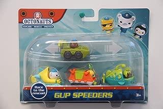 Octonauts Gup Speeders | Pack of 4 | Gup-A, Gup-K, Gup-T & Gup-U
