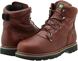 "John Deere 6"" Lace-Up Steel Toe"