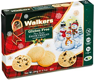 Walkers Shortbread Gluten Free Holiday Assortment, 9.9 Ounce