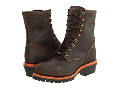 Chippewa Apache Steel Toe Logger (Chocolate) Men