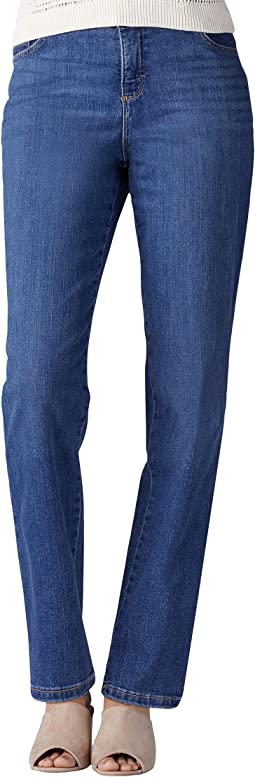 Instantly Slim Straight Leg Jeans