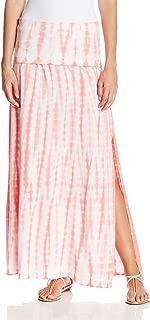 Performance Women's Foldover Waist Tie Dye Maxi Skirt