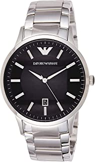 امبوريو ارماني ساعة رسمية رجال انالوج بعقارب ستانلس ستيل - AR2457