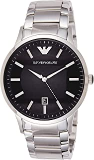 Emporio Armani Men's Sportivo Analog Analog-quartz Silver Watch, (AR2457)