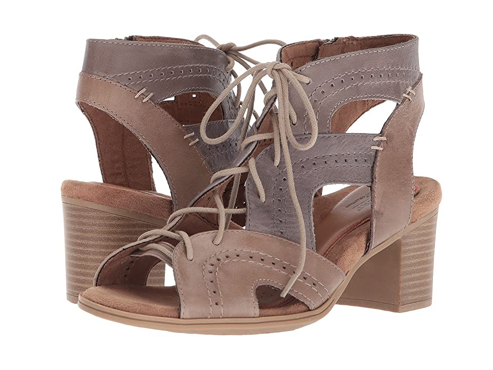 Rockport Cobb Hill Collection Cobb Hill Hattie Open Lace (Taupe Bali Multi) Women
