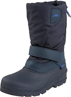 Tundra Quebec Child Winter Boots, Navy, 1 M US Little Kid