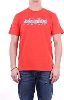 Michael Kors CS05JA5FV4 - Camiseta de manga corta para hombre